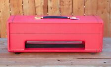"""British"" / Model 1992 Super Bass Plexi / 1969 / Red / Head Cabinet"