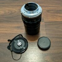 Minolta MC TELE ROKKOR PF 135mm f/2.8 Telephoto Lens Rolev 55mm Haze