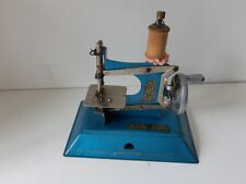 Toy Child's sewing machine Little Betty All metal Blue