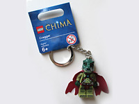 Genuine Lego Chima Minifigure KeyRing Cragger Brand New 850602