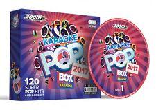 CDG - Zoom Karaoke Pop Box 2017 - 120 Pop Hits - 6 Disc CD+G Set