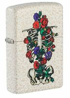 ZIppo Floral Skeleton Design Mercury Glass Windproof Pocket Lighter, 49252