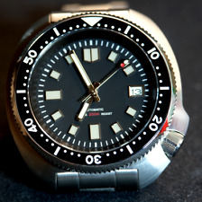 Divers 316L sapphire glass  Seiko 6105 Homage watch UK/EU Stock NH35A MVMT