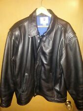 5eaae670f3e Pepsi Cola Beautiful vintage Leather Motorcycle Jacket LARGE