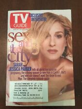 TV Guide June 29-July 5, 2002 Sex and the City, Sarah Jessica Parker