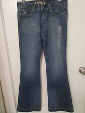 Express Jeans Ladies Size 2 Long Stella Reg Fit, Flare Jeans – Nwts Rtl $60
