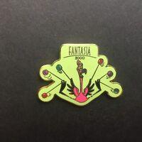 WDW Fantasia 2000 Flamingo Lime Green Disney Pin 5489
