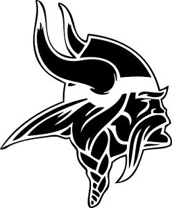 """Minnesota Vikings NFL Decal """"Sticker"""" for Car or Truck or Laptop"""