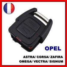 Coque Clé Plip Télécommande 2 Bouton OPEL FRONTERA/ TIGRA/ Antara/ Meriva/ Corsa