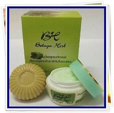 Botaya Herb Herbal Set Cream+Soap Cure Acne Whitening Face Treatment+Track