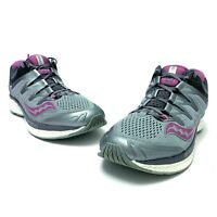 Saucony Women's Triumph ISO 4 Running Shoes, EVERUN S10413-1 Size 8.5 Fog Grey