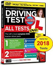 Driving Theory Test Success & Hazard Perception. MAC, PS3/4, XBOX, DVD Player.