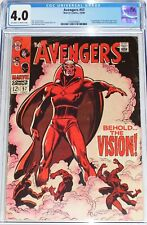 Avengers #57 CGC 4.0 (Oct 1968) Black Widow & Ultron. 1st appearance of Vision.