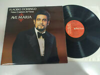 "Placido Domingo Ave Maria RCA 1981 - LP Vinilo 12"" VG/VG"