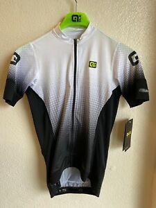 Alé Cycling PRS Dots Short Sleeve Jersey - White - Women's Small
