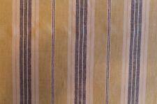 """Fergus"" by Bravo Fabrics, in ""lemonade"" a yellow and grey stripe print on linen"