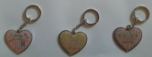 Mum Metallic Key Ring. Great Gift For Birthday, Mothers Day. Choice of 3 Designs