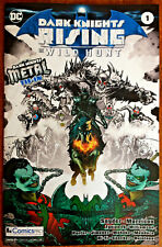 Dark Knights RISING the WILD HUNT #1 COMICSPRO EXCLUSIVE Variant METAL DC NM