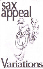 Sax Appeal - Variations CASSETTE TAPE Self Release TC Recording Basil Tait Jazz