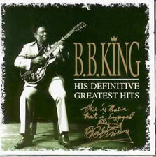 BB KING HIS DEFINITIVE GREATEST HITS DOUBLE CD NEW