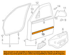 TOYOTA OEM 98-02 Corolla FRONT DOOR-Body Side Molding Right 7573102080