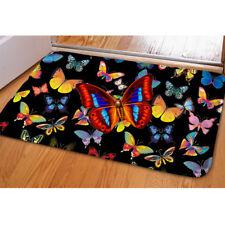 Carpets For Living Room Butterfly Print Kids Bedroom Floor Doormat Non-slip Mats