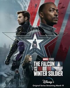 Official The Falcon and the Winter Soldier Movie Poster