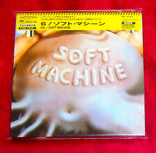 Soft Machine Six MINI LP CD JAPAN MHCP-426 Soft Machine 6