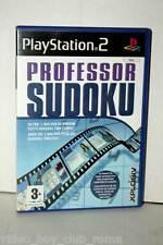 PROFESSOR SUDOKU GIOCO USATO OTTIMO STATO SONY PS2 EDIZIONE ITALIANA RARA GS1