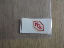 "Dinky 491 ""BCN"" Dairy Van décalques/transferts Red#2"