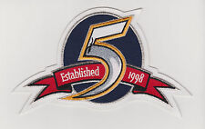 NHL NASHVILLE PREDATOR 5TH ANNIVERSARY PATCH ONLY CORRECT PATCH
