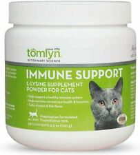 Tomlyn L-Lysine Sprinkle Powder Support Healthy Immune System for Cats -100gm