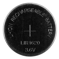 LIR1620 Pila Batteria Ricaricabile replace BR CR DL ECR KCR ML LM LIR 1620 3.6V