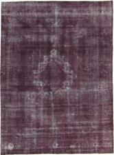 Fin Vintage Look Antique Jean Laver Persan Tapis D'Orient 3,65 X 2,70