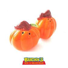 Pumpkin Salt & Pepper Shakers Thanksgiving  Halloween  Autumn Fall Harvest Gourd