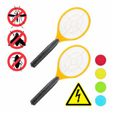 2 x Elektro Fliegenklatsche, Fliegentöter Mückenklatsche Mückentöter Fly Swatter