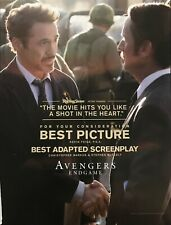 AVENGERS ENDGAME Oscar advertisement Robert Downey Jr Academy Award ad