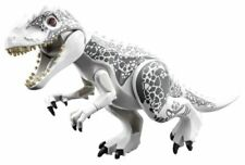 """Indominus Rex Jurassique dinosauro grandi 7 x 11"""" figura blocchi Lego Giocattoli"""