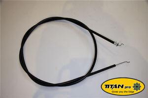 "Engine Throttle Cable   Titan Pro 22"" Zero Turn Lawnmower Spares"