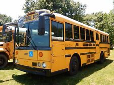 2004 Thomas Saf-T-Liner School Bus MBE906 6.4L LEV Turbo Diesel Chair Lift