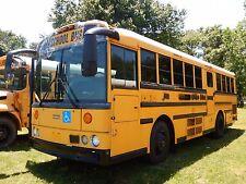 2004 Thomas Saf-T-Liner School Bus MBE906 6.4L LEV Turbo Diesel Chair Lift
