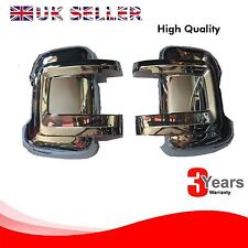 Fiat Ducato wing mirror cover chrome / left&right