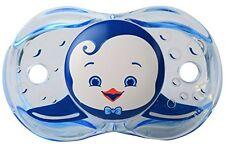 RaZbaby Keep-It-Kleen Pacifier, Ethan Penguin, - 0-36 Months