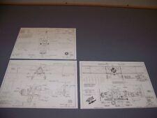 VINTAGE..MARTIN BM-1/2 & T4M-1..3-VIEWS/SPECS/DETAILS...RARE! (917A)