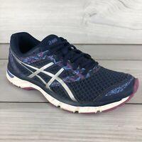 Asics Gel Excite 4 Running Shoes T6E8N Women's Size 9 Purple Blue Athletic Light