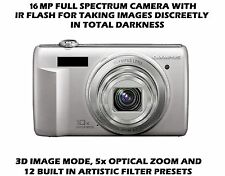 16MP Olympus Full Spectrum Ghost hunting camera con flash a infrarossi invisibile