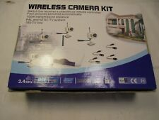 Wireless CCTV 2 Camera System  100 meter transmission distance w/ remote control