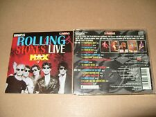 Rolling Stones  Live At The Max Live - 2 x cd Video cds + Inlays Vg/Ex Cond (C24