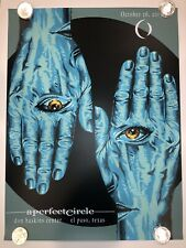 A Perfect Circle Poster Print numbered artist Don Haskins Center 10/26/17 Tool