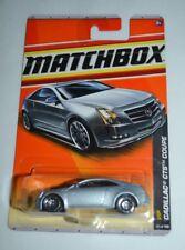 2011 MATCHBOX VIP CADILLAC CTS COUPE SILVER 32/100 VHTF !! RARE !!
